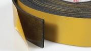 Самоклеющаяся лента из вспененного каучука