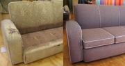 Перетяжка и ремонт мягкoй  мебели