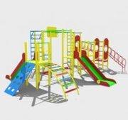 Игровые комплексы и детские площадки;
