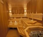 Брус полок (лежак для бани,  сауны) ольха, липа