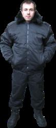 Куртка утепленная охранника
