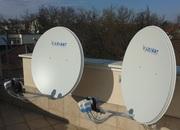 Установка,  настройка і ремонт супутникової антени в Тернополі