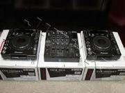 2-Pioneer CDJ 1000 MK III + 1-DJM 800 €750EUR