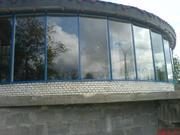 Алюминиевые фасады,  зимние сады,  перегородки,  басейны,  окна,  двери,   в